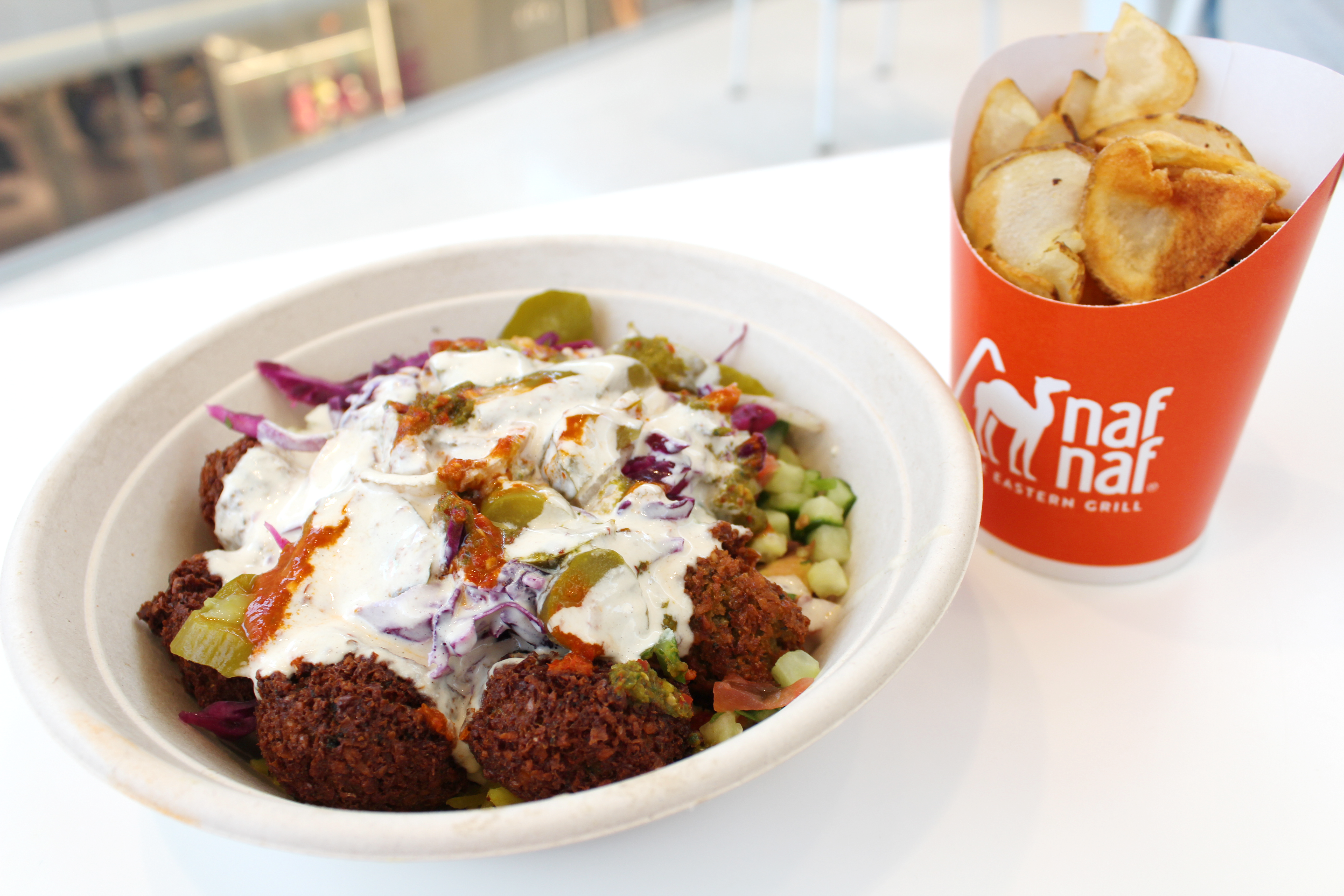 picture of falafel bowl